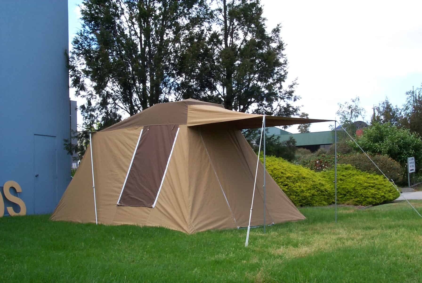 Australian made canvas tents australian canvas co for How to make a canvas tent