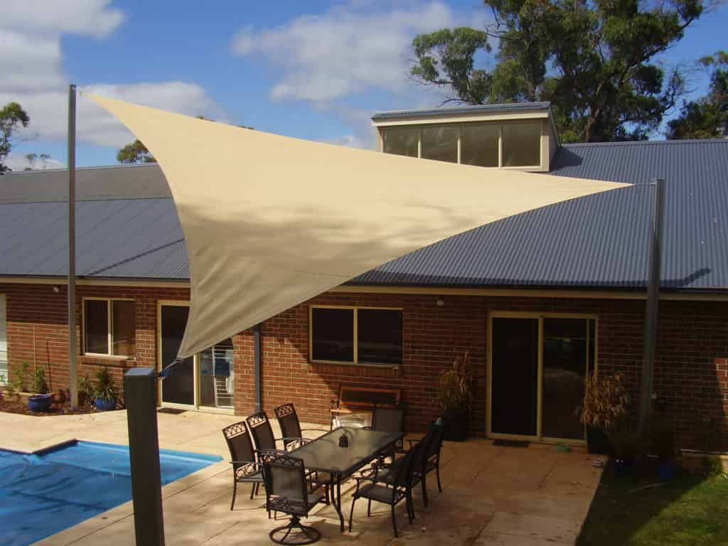 Shade sails in melbourne australian canvas co for Shadesails com