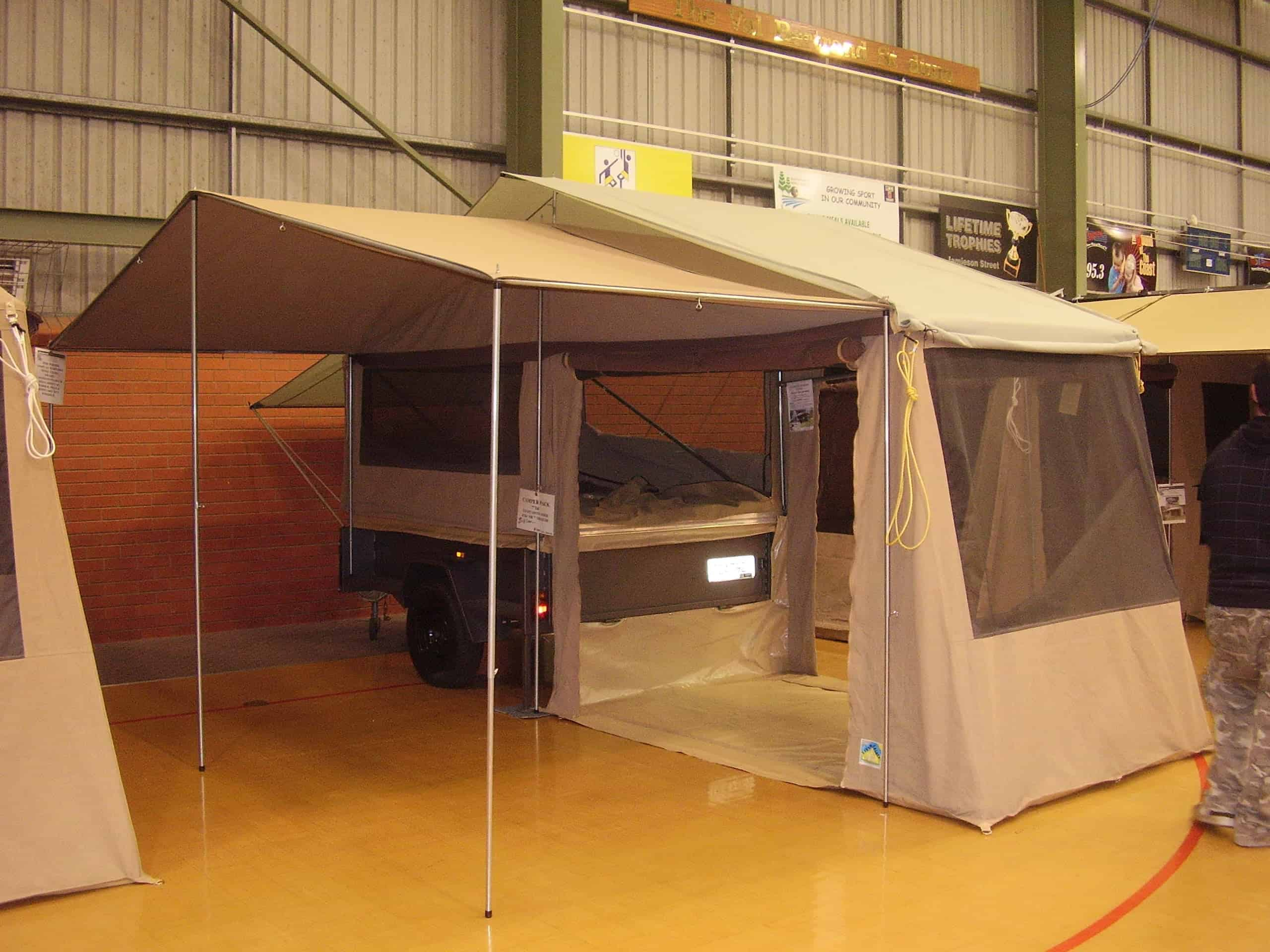 canvas canopy & Australian Canvas Co. | Custom Camper Trailer Tents | Travel Covers ...