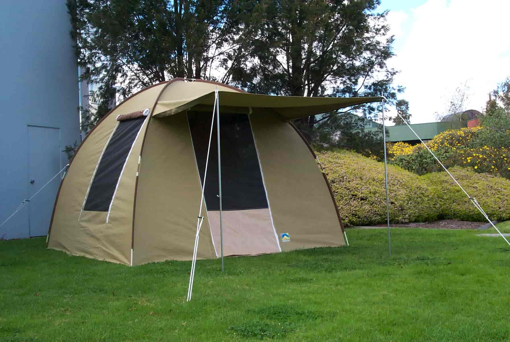 Australian made canvas tents australian canvas co for Canvas tent plans