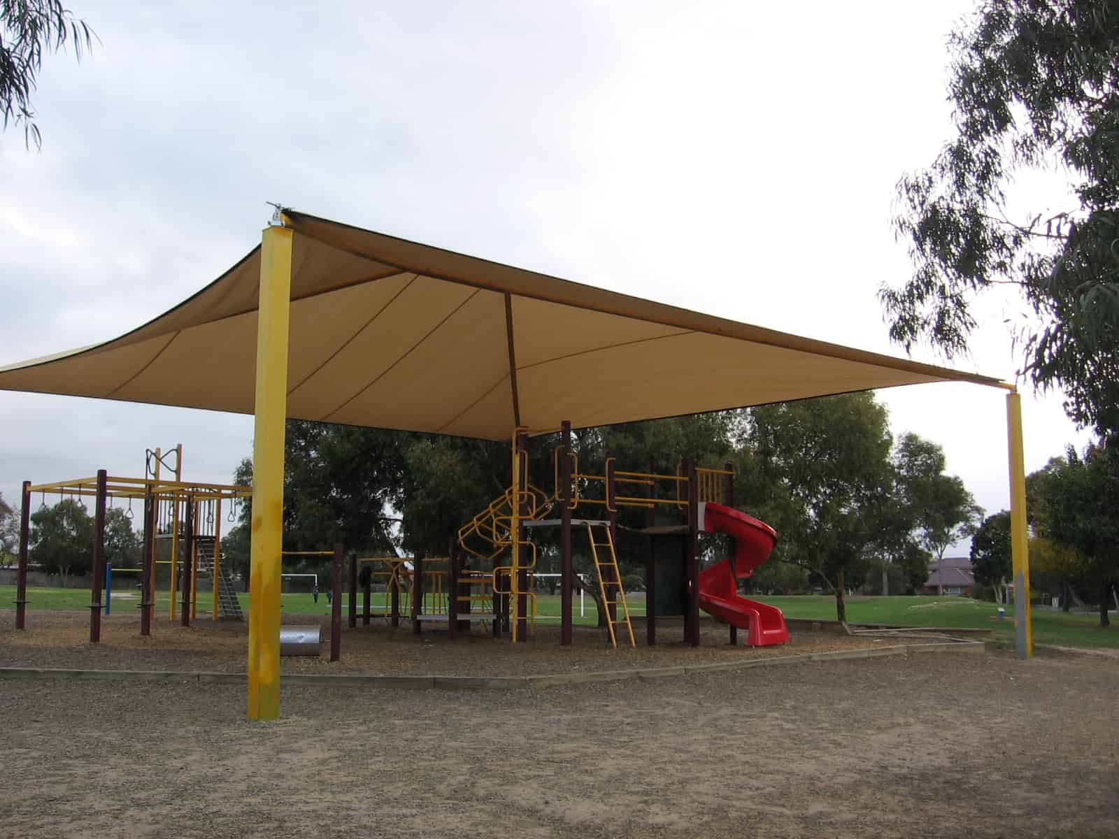 Custom shade sails
