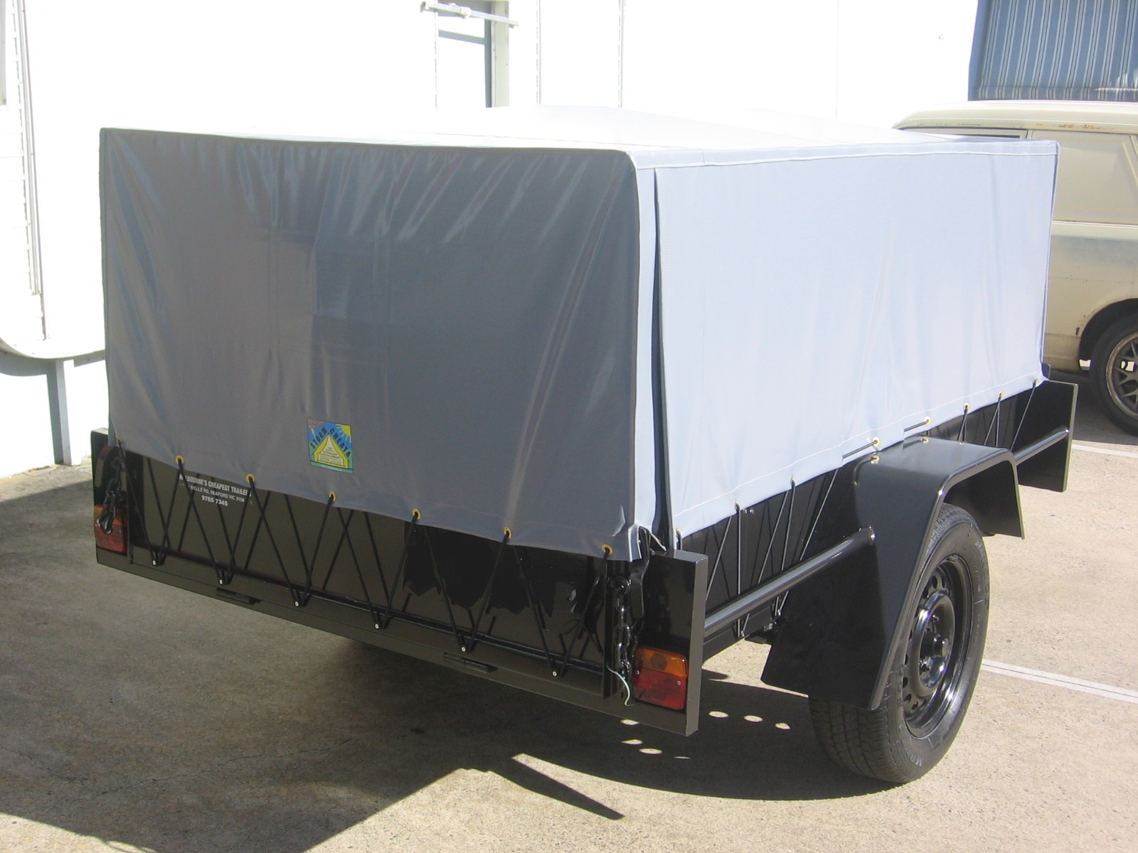 Canvas Canopies for UTES